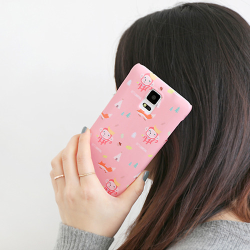 HelloGeeks Galaxy Note4 Pattern Case