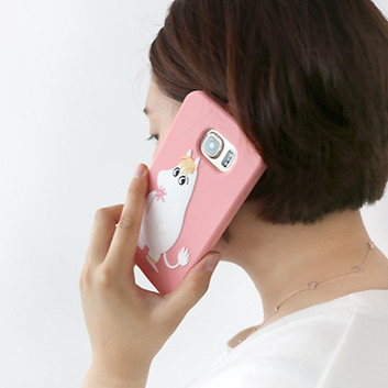 Moomin Galaxy S6 Sillicon Case