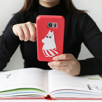 Moomin Galaxy Note5 Sillicon Case