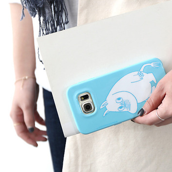Moomin Galaxy S6 Soft Case